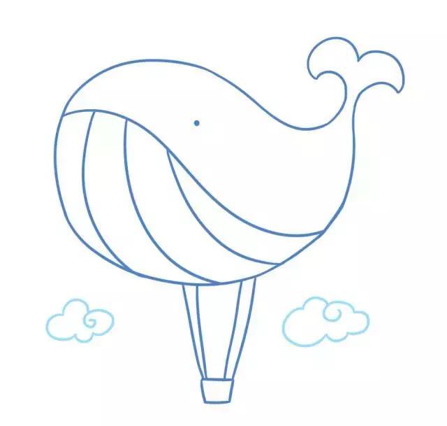 气球简笔画可爱