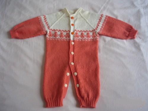 舒适美观的芭比绒婴儿开衫套装针织,附教程与图解