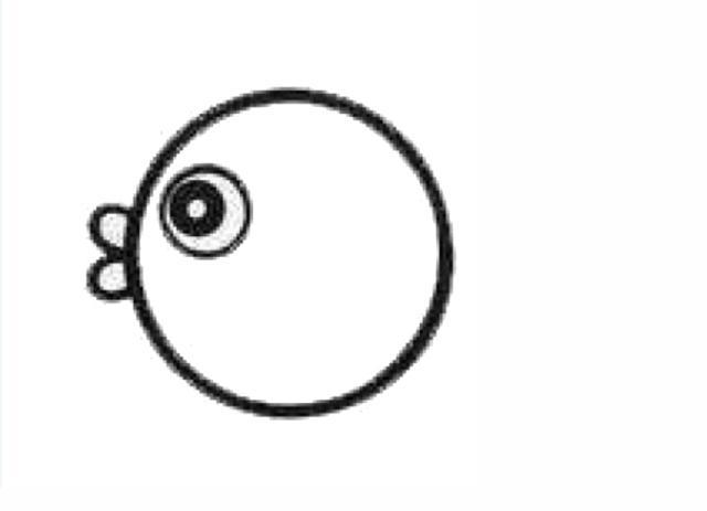 宝宝简笔画,幼儿绘画,自由自在的深海鱼 - 宝宝爱早教
