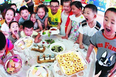 每个幼儿园新班入园前一般都会有参观,试听,体验日,亲子课程等活动
