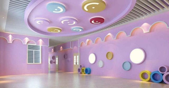 幼儿园室内格局设计四大布置要点-极正创意