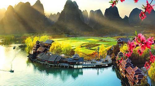 秀丽神奇的风景,一幅中国水墨画,果然没让人失望