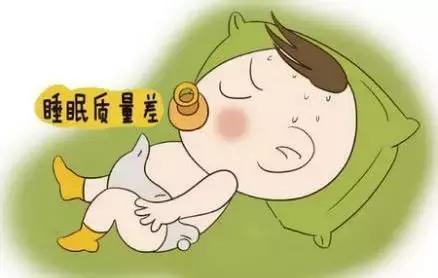 孩子睡眠质量不好_睡眠质量不好,睡眠时间不够的宝宝比睡眠好的宝宝更易生病,而生病后