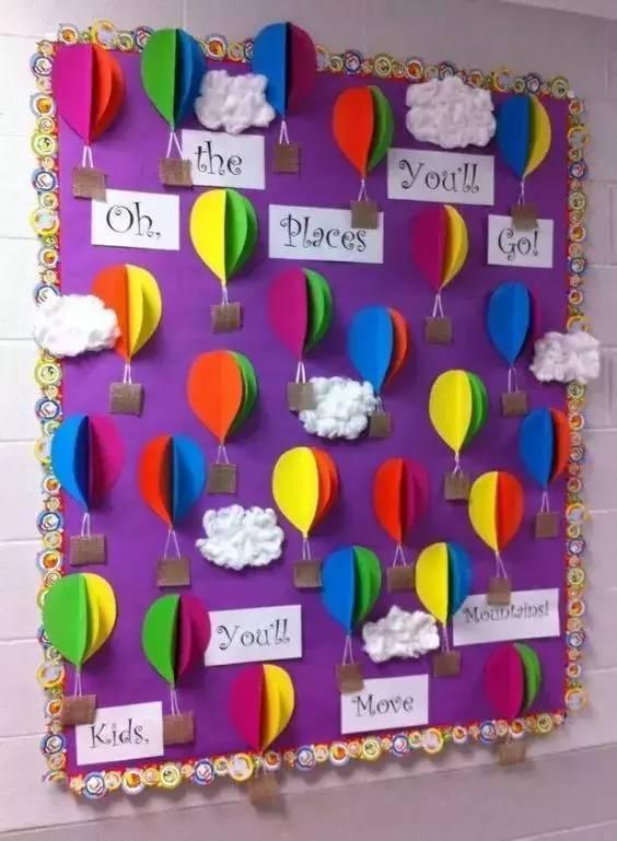 让幼儿园墙面设计既美观又多变的几个好方法!美的不要