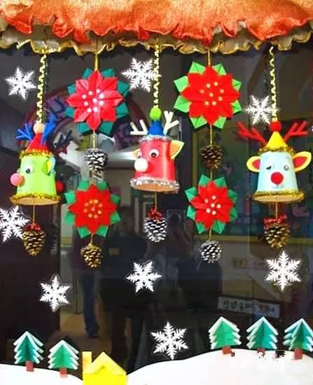 幼儿园圣诞最新手工吊饰,美爆了!