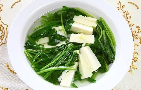 菠菜能吃豆腐一起吃吗