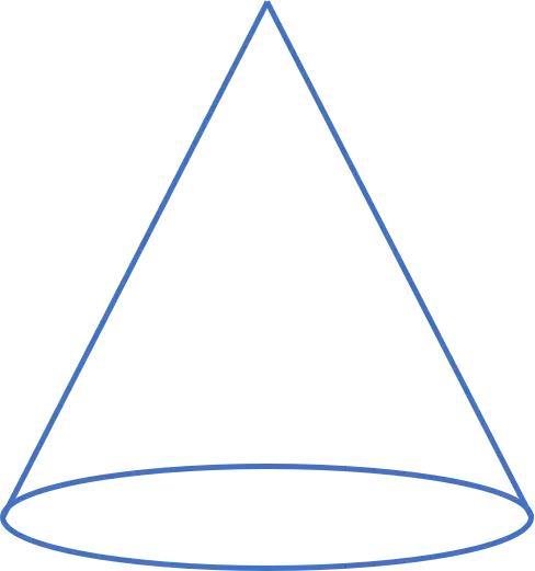 那么回头再来看圆锥体的体积.