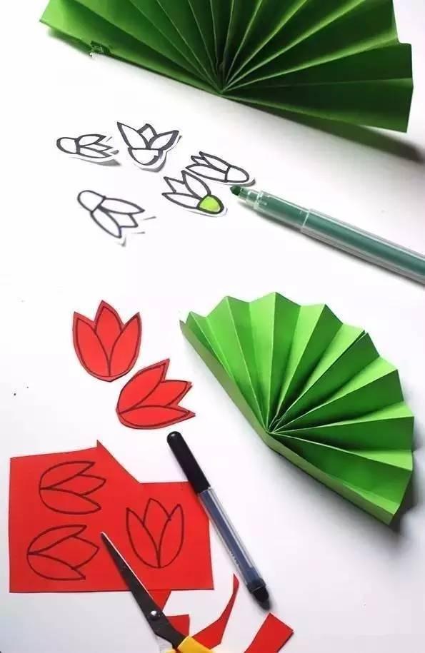n款幼儿园夏天卡纸手工制作,主题环创全都有!