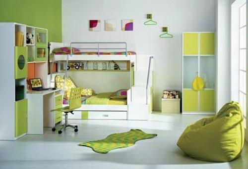 兒童房墻面顏色選擇,兒童房墻面粉刷技巧