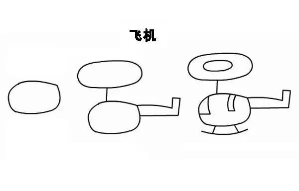 简笔画丨用简单的图形画可爱的动植物,可以用在黑板报手抄报上!