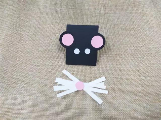 幼儿园创意亲子手工教程,机灵的小老鼠