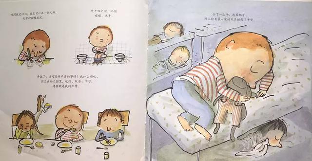 绘本推荐,幼儿园入园准备,让宝贝快乐的去上学