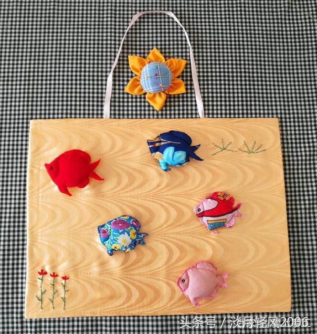 纸板手工制作小鱼