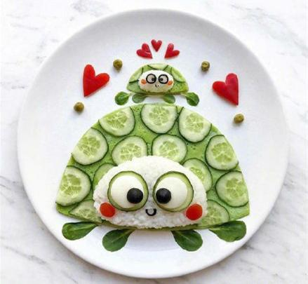 今天星期四,简单一点过,萌萌哒创意儿童餐