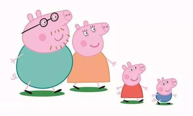 小猪妈妈卡通简笔画