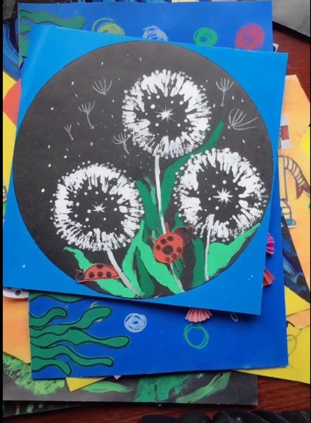幼儿园创意绘画作品集图片