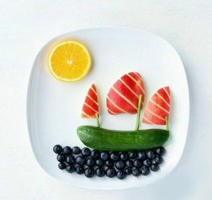 儿童创意美食摆盘,让你的孩子爱上吃饭!