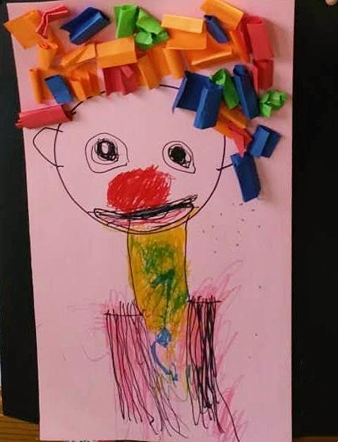 六岁儿童风景绘画