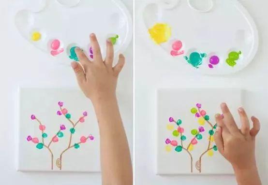 彩虹画画图片大全可爱