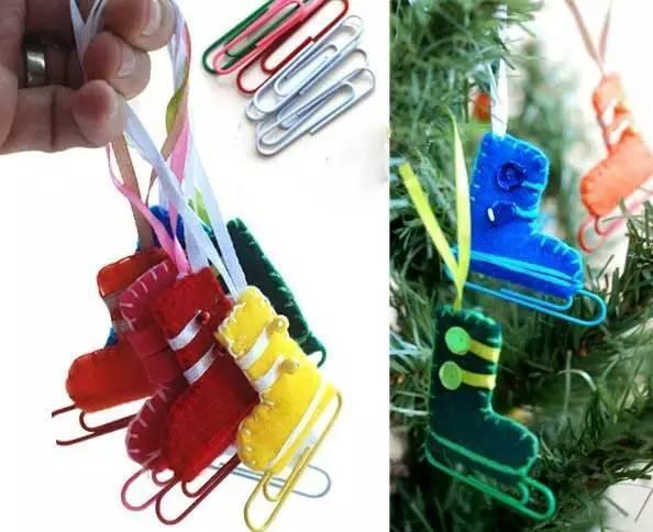 布织布指偶手工制作图片