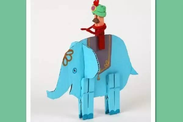 「创意手工」衣夹子居然是孩子的万能创意玩具?