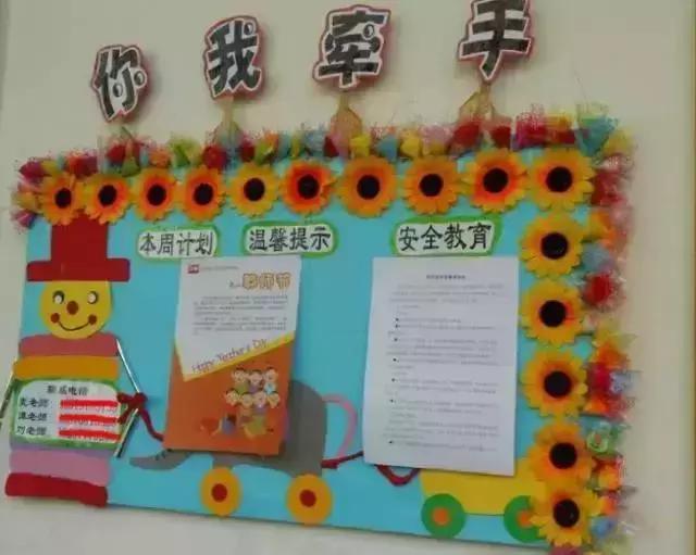 幼儿园环创——主题,区角,联系栏,非常全面