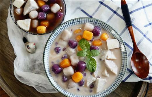 厨艺厨房丨商场里的芋圆红豆25元一碗!自己做才不到10