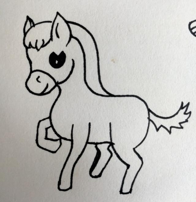 耳朵簡易畫法兒童