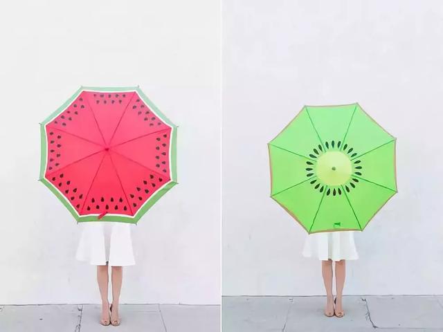 雨伞还能这样画?这创意我给100分都嫌少