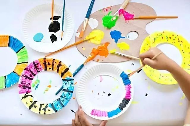 幼儿纸盘蝴蝶手工制作大全图片
