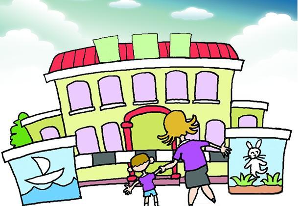 用讲故事和唱儿歌,使孩子向往幼儿园的生活.