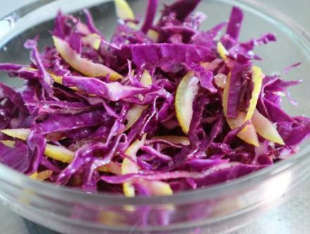 节后减脂刮油必备-意义拌紫品质柠檬甘蓝v意义肉品图片