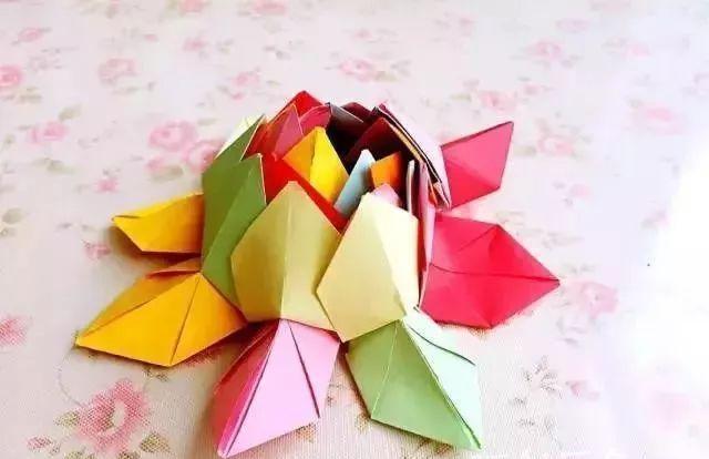 彩纸手工制作大全图解叶子