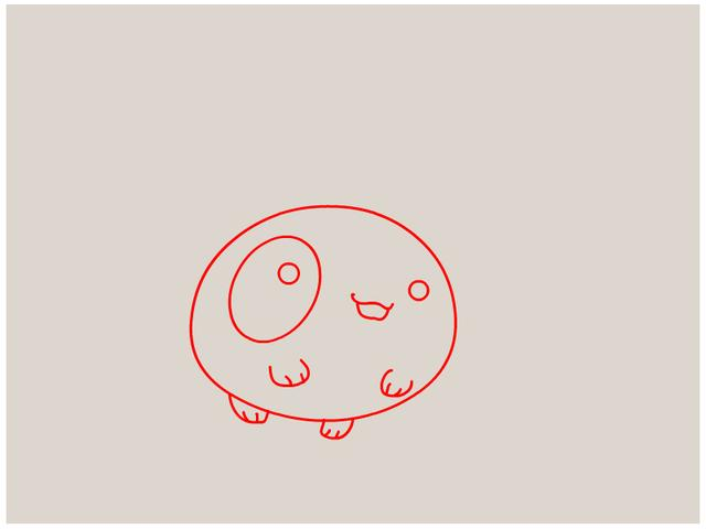 简单几笔,就能画成一个可爱的动物,收藏给宝宝绘画用