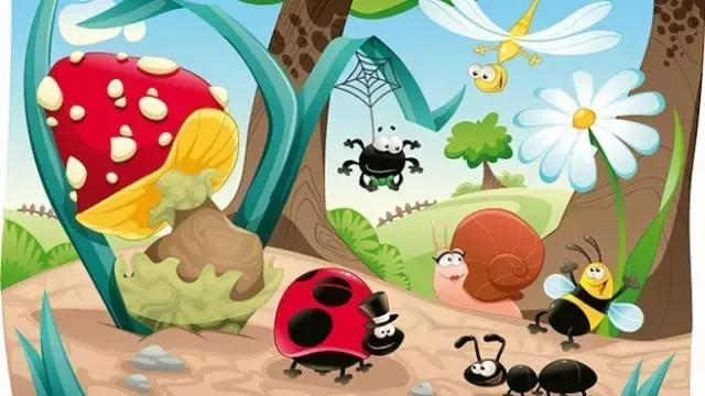 在这期间可以问孩子一些问题,小动物是怎么运动的?