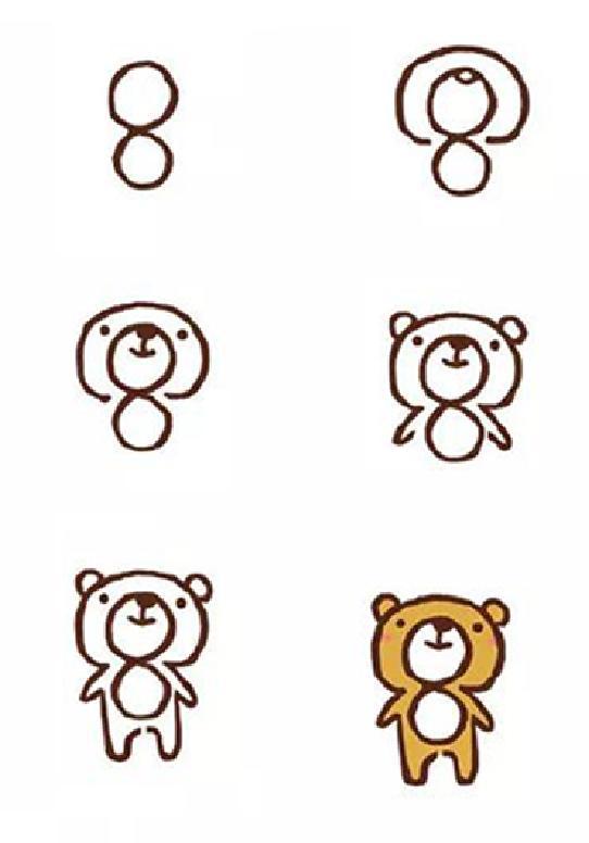 超级简单的小动物简笔画,幼儿园级别~   手残星人零基础一学就会,老师