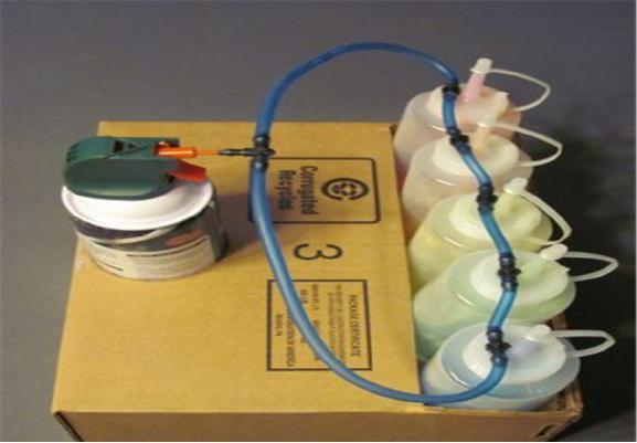 纯手工制作彩虹喷射器,制作简单,但是千万不要在室内玩