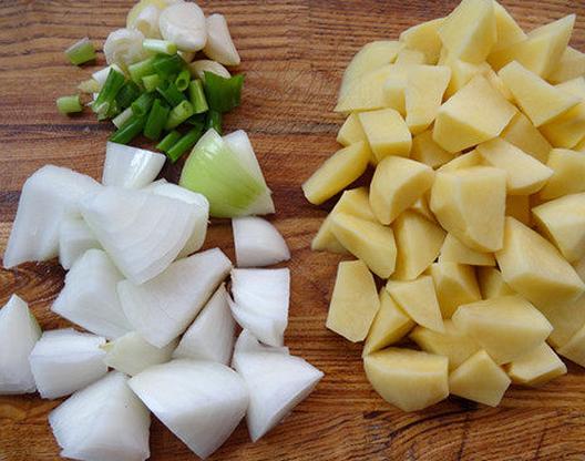 土豆做成小动物