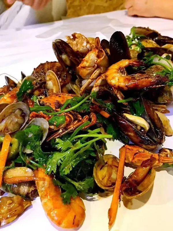 网红铁锨手抓海鲜配方做法送给你 - 妈妈们的私房菜