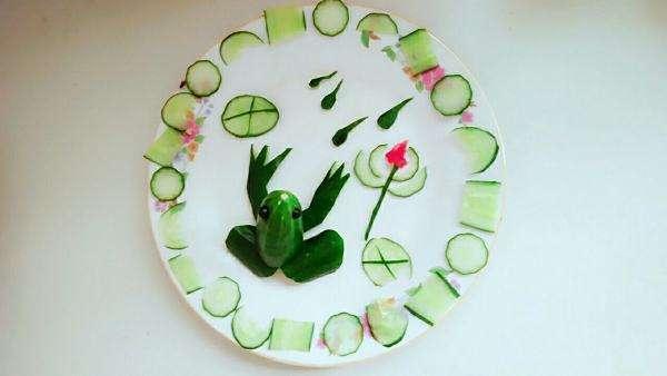 56个儿童创意蔬菜水果摆拼盘,让孩子爱上吃蔬果丨亲子